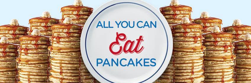 All You Can Eat Pancakes  All You Can Eat Pancakes At IHOP
