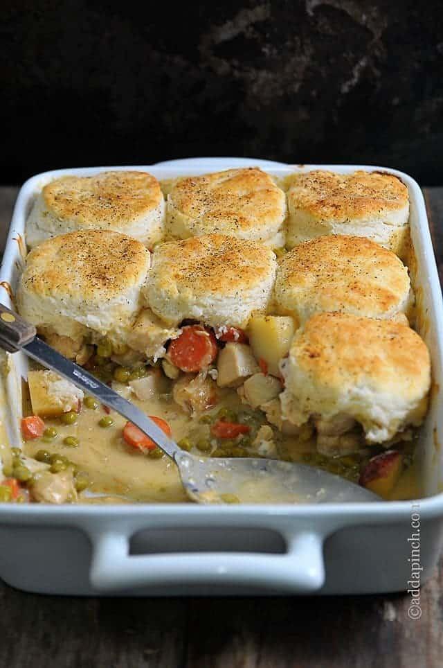 Allrecipes Chicken Pot Pie  Chicken Pot Pie with Biscuits Recipe Add a Pinch