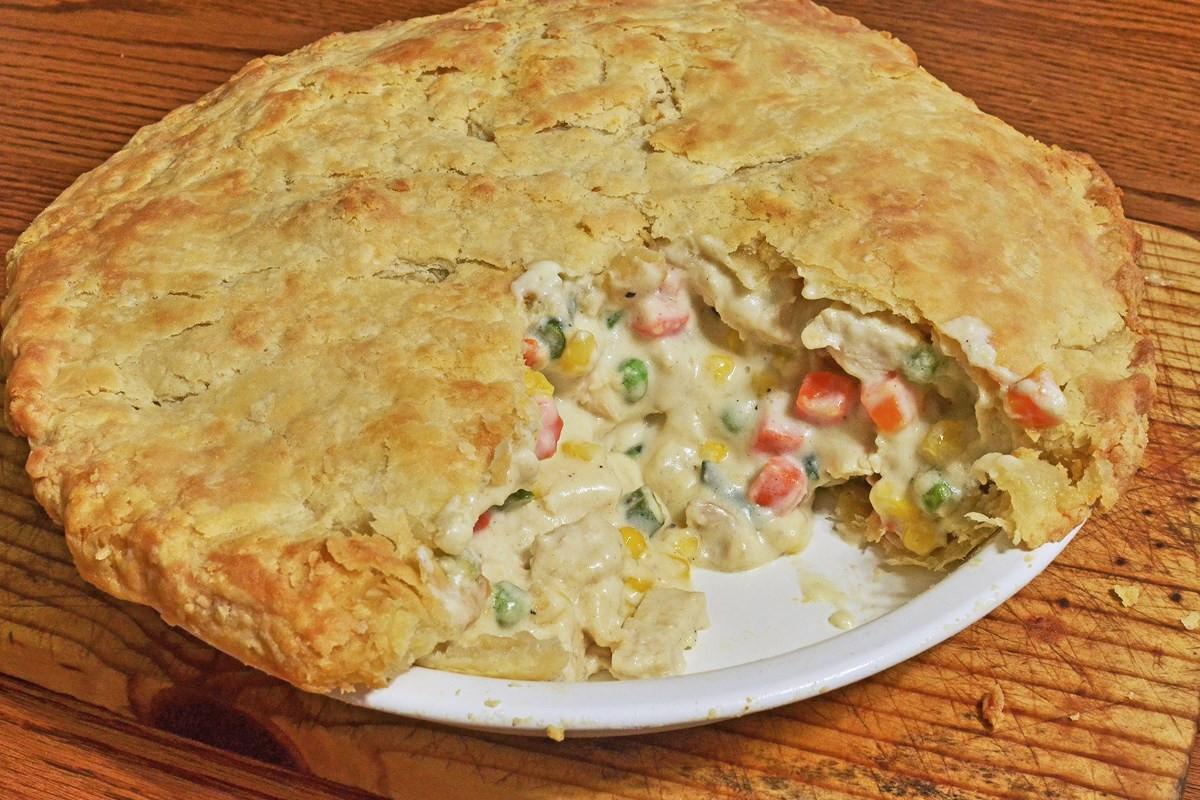 Allrecipes Chicken Pot Pie  Old Fashioned Chicken Pot Pie KitchMe