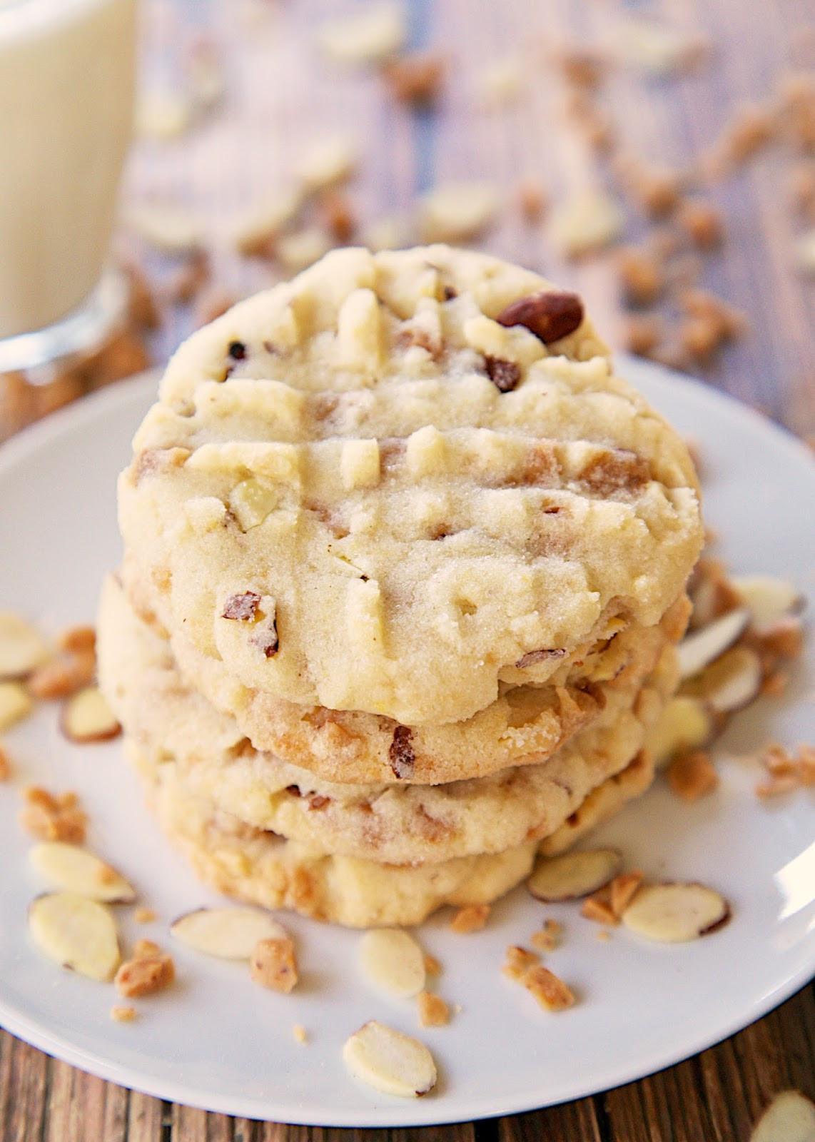 Almond Cookies Recipe  almond cookie recipe