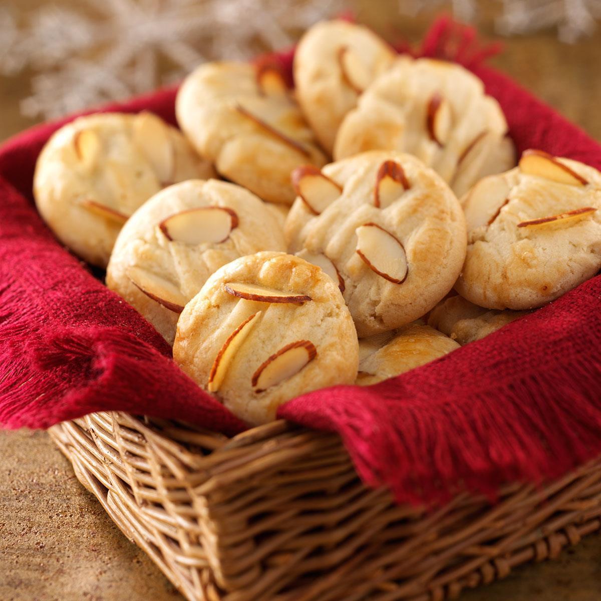 Almond Cookies Recipe  Chinese Almond Cookies Recipe
