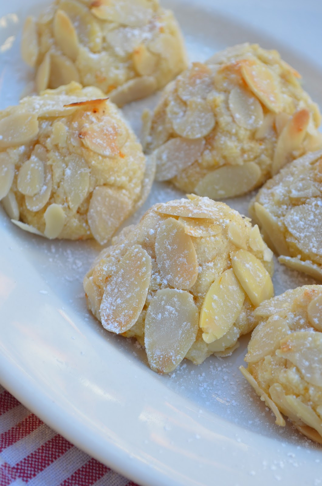 Almond Cookies Recipe  amour fou d almond cookies