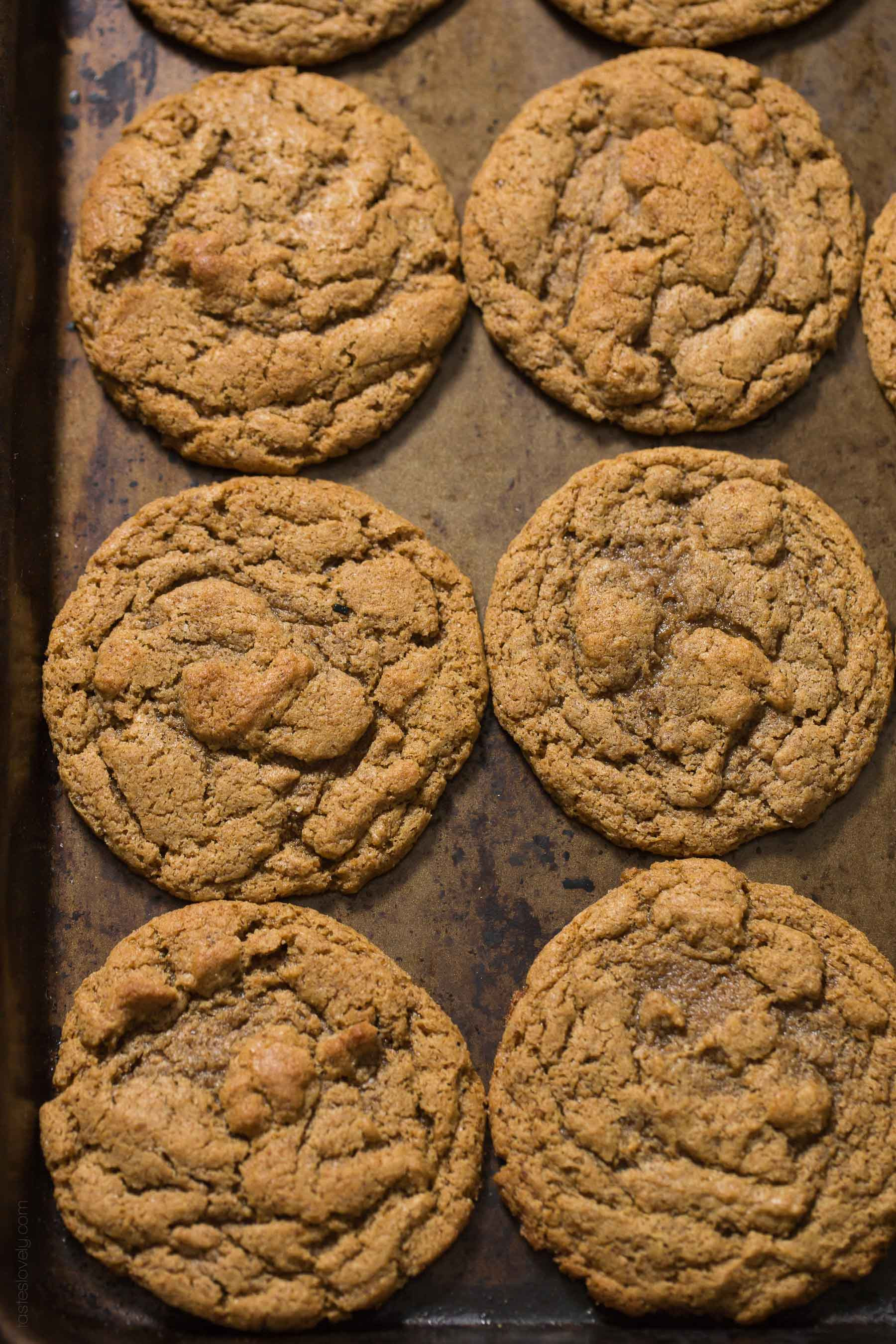 Almond Cookies Recipe  Paleo Almond Butter Cookies Tastes Lovely