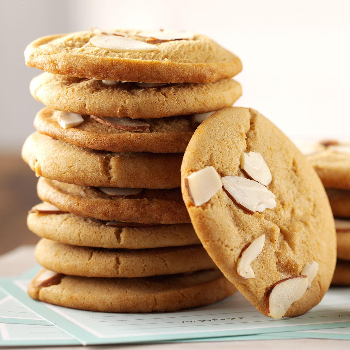 Almond Cookies Recipe  Chewy Almond Cookies Recipe