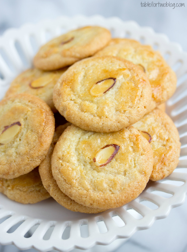 Almond Cookies Recipe  traditional japanese almond cookies