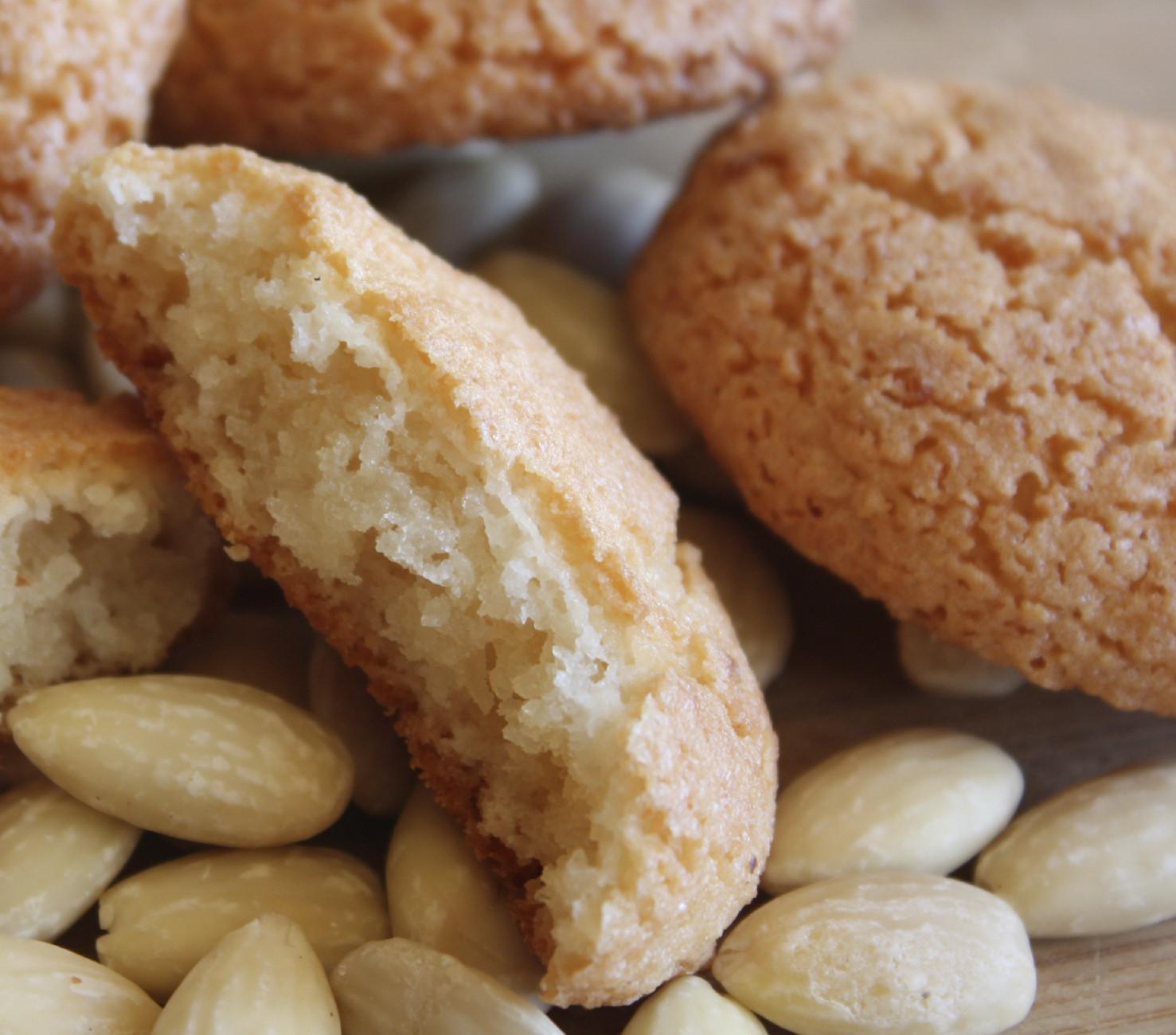 Almond Cookies Recipe  Traditional Maltese recipe Almond biskuttini LITTLEROCK