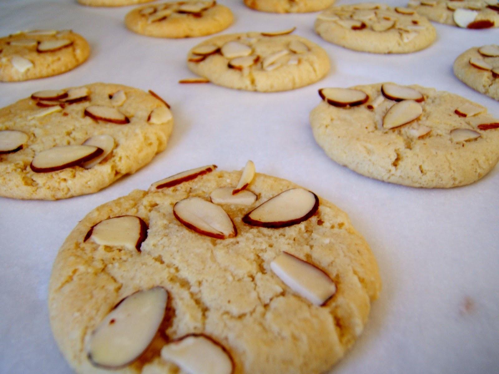 Almond Cookies Recipe  Almond Cookies Recipe Easy Dessert Recipes