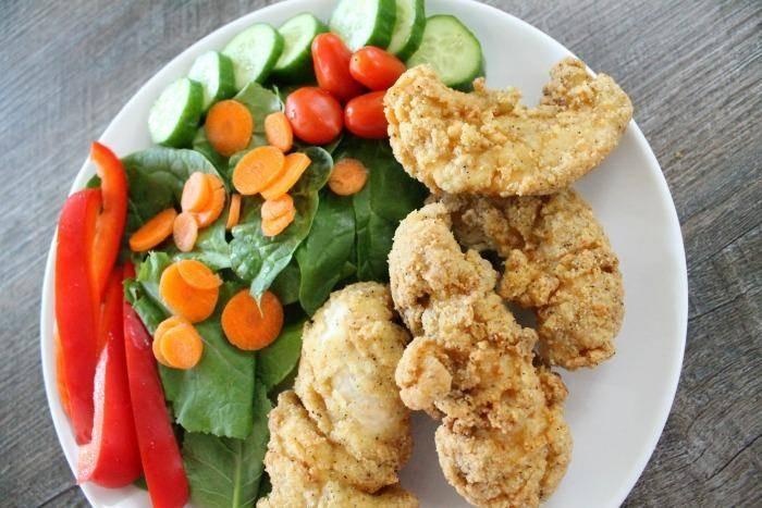 Almond Flour Chicken Tenders  gluten free almond flour chicken nug s