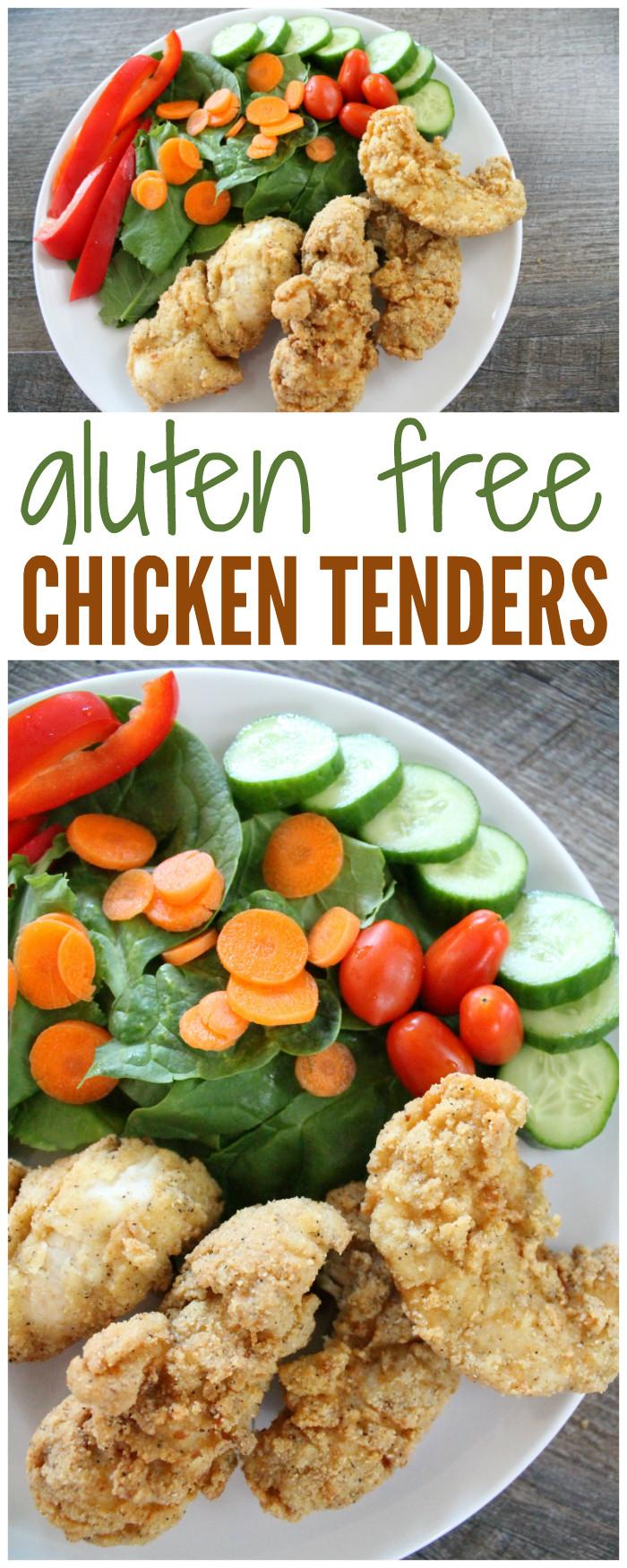 Almond Flour Chicken Tenders  Gluten Free Chicken Tenders Recipe made with Almond Flour