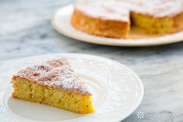 Almond Flour Dessert Recipes  Flourless Lemon Almond Cake Recipe