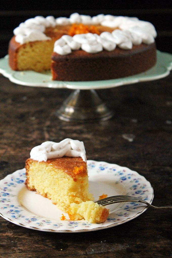 Almond Flour Desserts  Almond and Orange PAN Corn Flour Cake Gluten Free