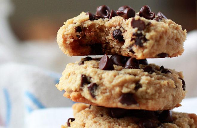 Almond Flour Desserts  Almond Flour Chocolate Chip Cookies Kitchen Treaty