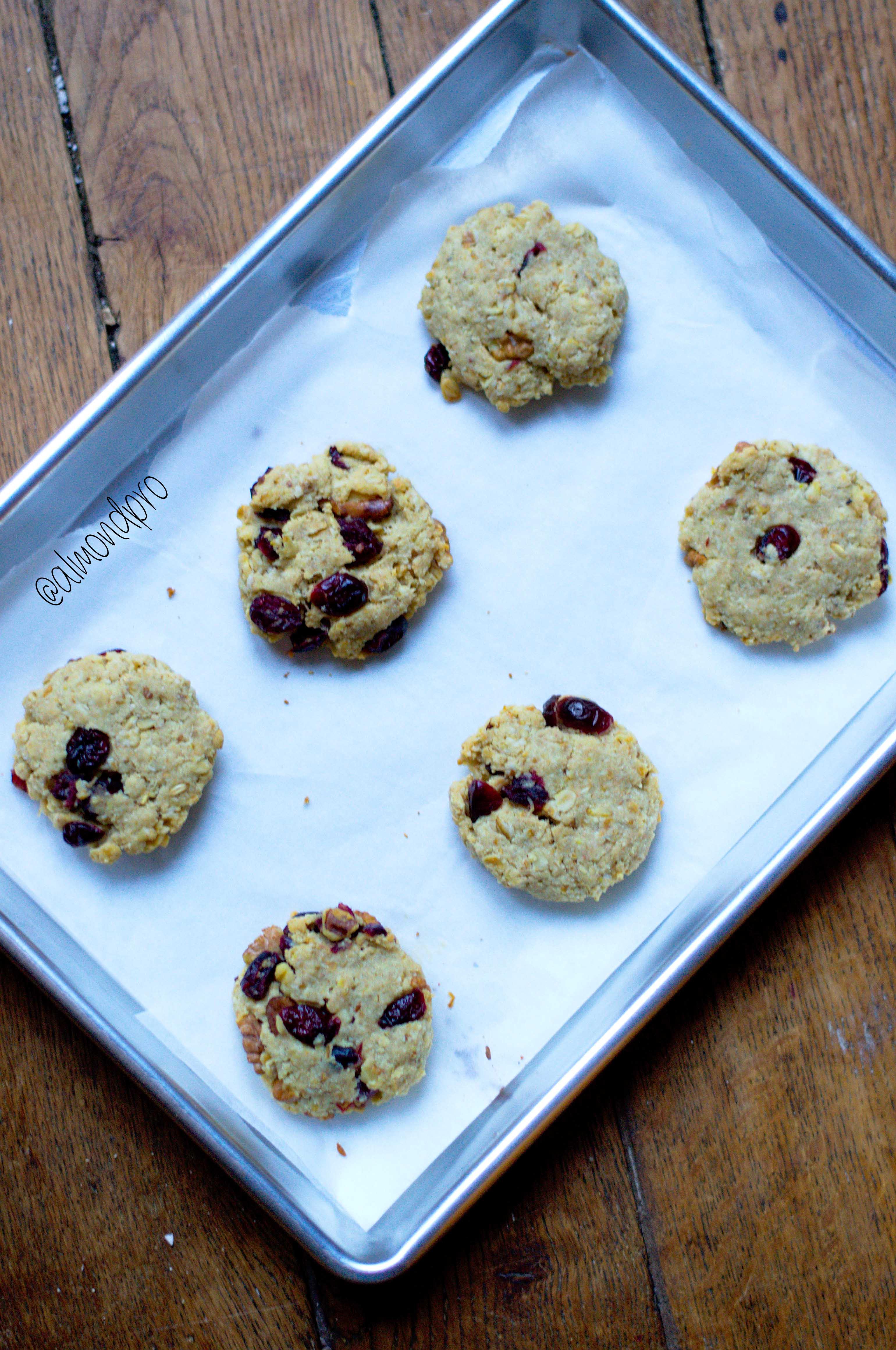 Almond Flour Oatmeal Cookies  Almond Flour Oatmeal Cookie Recipe Vegan Almond Pro