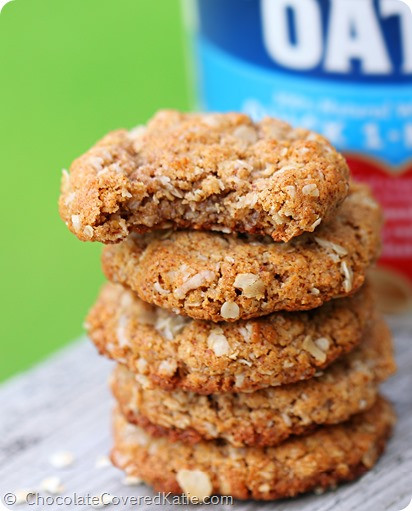 Almond Flour Oatmeal Cookies  Oatmeal Almond Butter Cookies NO flour and NO oil