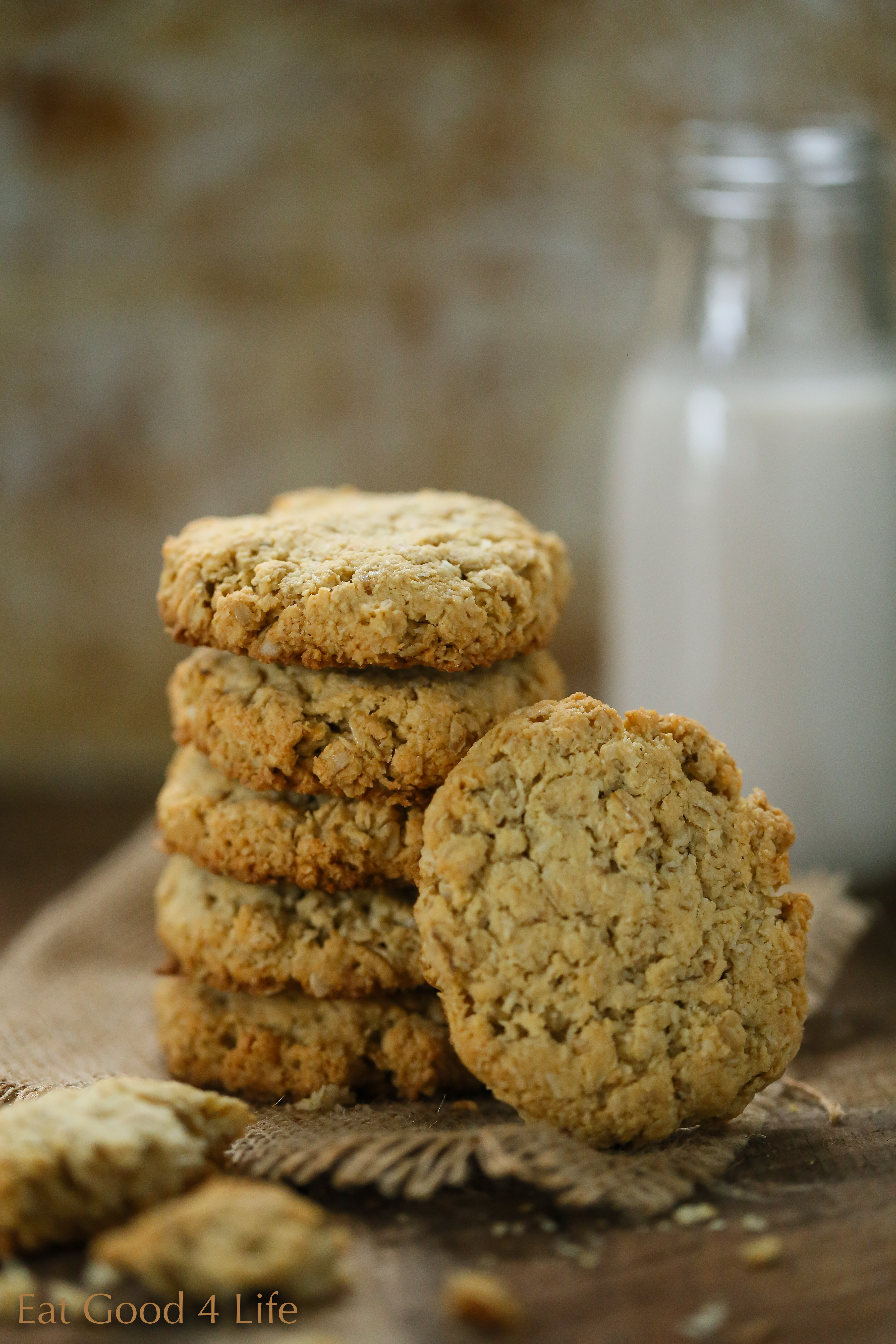 Almond Flour Oatmeal Cookies  gluten free oatmeal cookies almond flour