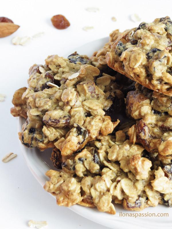 Almond Flour Oatmeal Cookies  Oat Flour Almond Plum Cookies Ilona s Passion