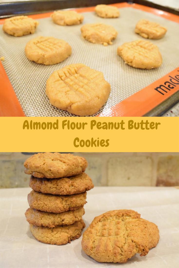 Almond Flour Peanut Butter Cookies  Almond Flour Peanut Butter Cookies The Southern Magnolia