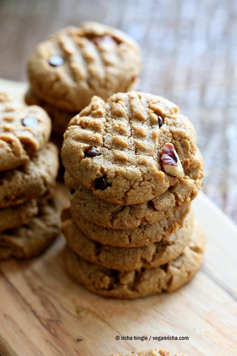 Almond Flour Peanut Butter Cookies  almond flour peanut butter cookies vegan