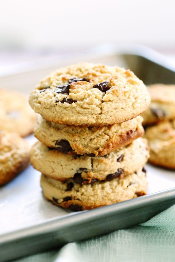 Almond Flour Peanut Butter Cookies  almond flour peanut butter chocolate chip cookies