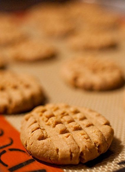Almond Flour Peanut Butter Cookies  Candice Peanut Butter Cookies low carb This is her