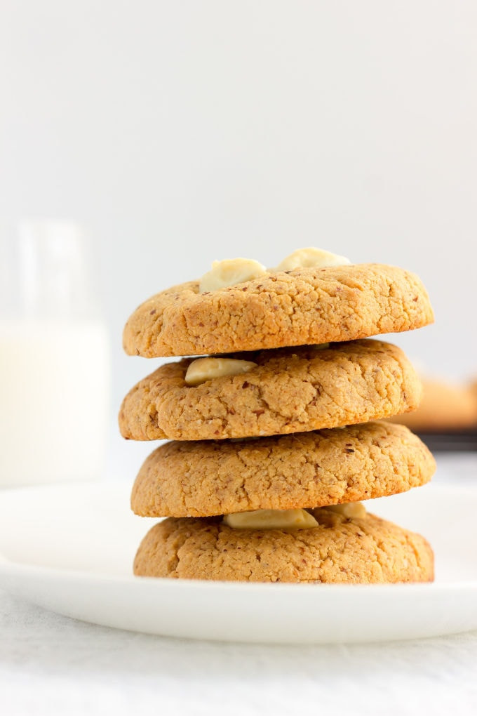 Almond Flour Peanut Butter Cookies  Almond Flour & Peanut Butter Protein Cookies e Clever Chef