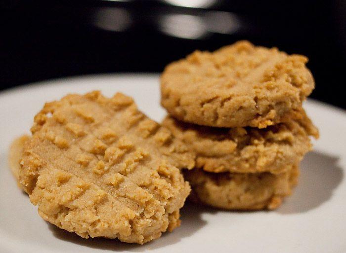 Almond Flour Peanut Butter Cookies  Low carb peanut butter cookies almond flour no carb food