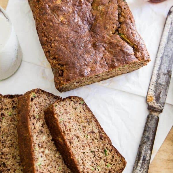 Almond Flour Zucchini Bread  Paleo almond zucchini bread Paleo zucchini bread