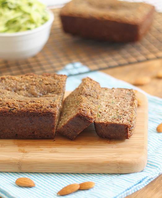 Almond Flour Zucchini Bread  Paleo almond zucchini bread