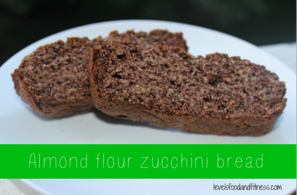 Almond Flour Zucchini Bread  Almond flour zucchini bread and my dog – Levels