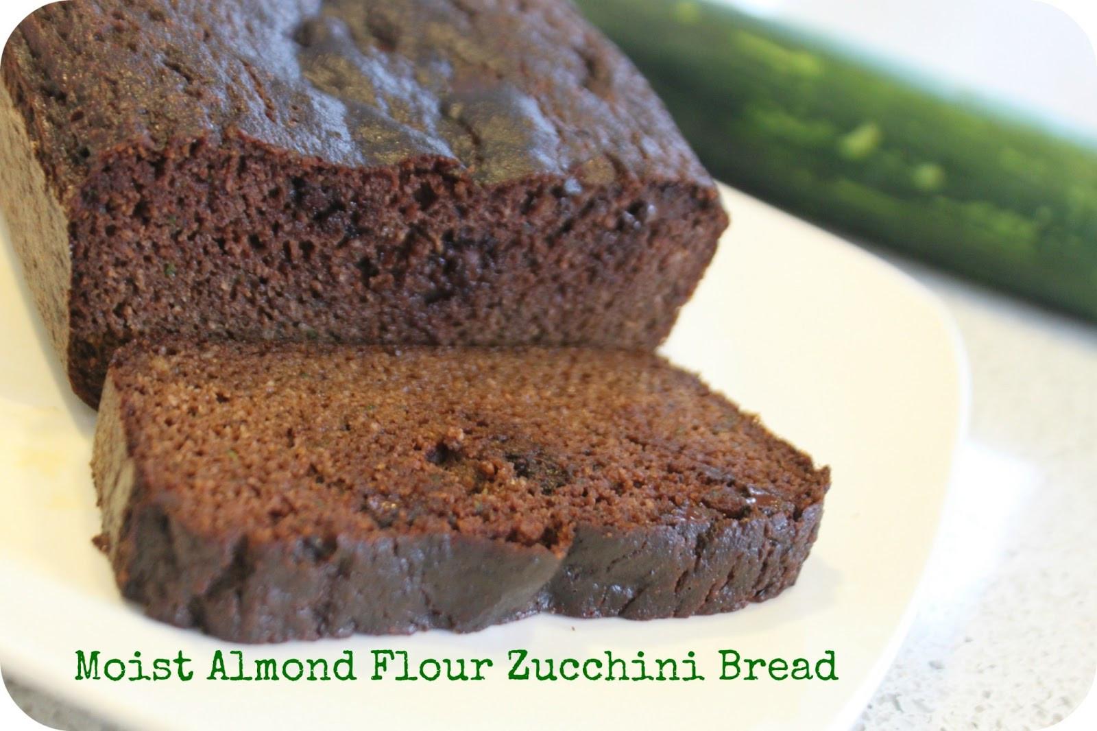 Almond Flour Zucchini Bread  MamaEatsClean Paleo Dark Chocolate Zucchini Bread made