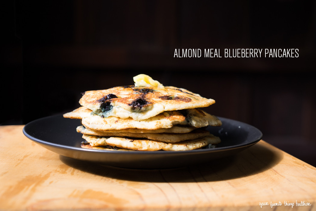 Almond Meal Pancakes  Almond Meal Blueberry Pancakes