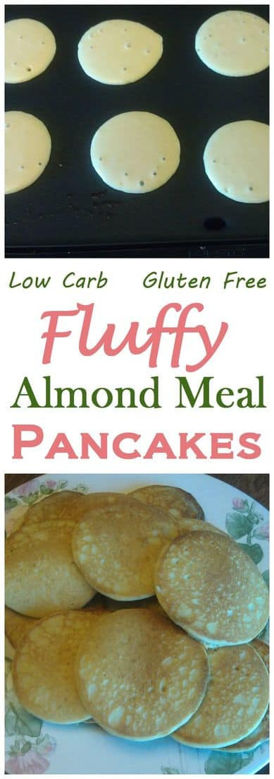 Almond Meal Pancakes  Fluffy Almond Meal Pancakes