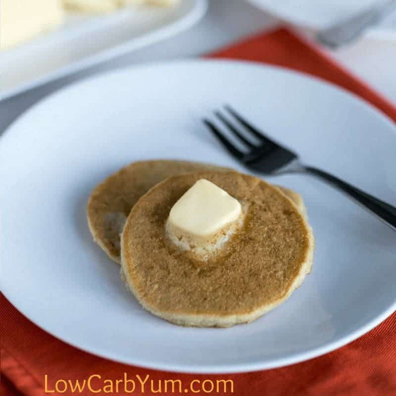 Almond Meal Pancakes  Low Carb Almond Meal Pancakes