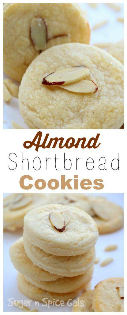 Almond Shortbread Cookies  almond shortbread cookies name