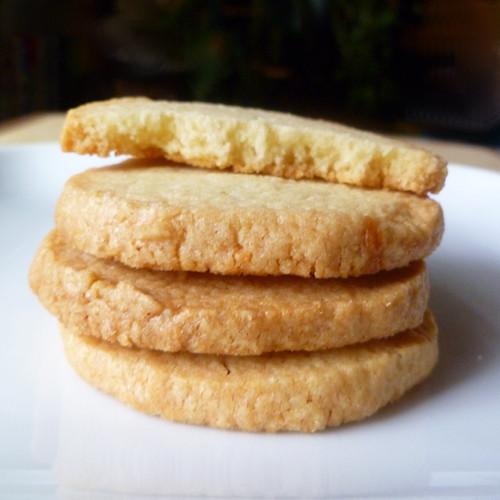 Almond Shortbread Cookies  Cookistry Almond Shortbread Refrigerator Cookies