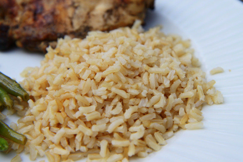 Alton Brown Baked Brown Rice  Perfectly Baked Brown Rice MomAdvice