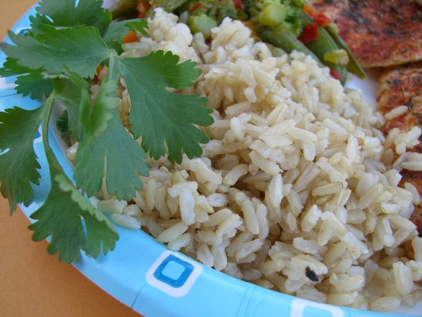 Alton Brown Baked Brown Rice  Alton Browns Baked Brown Rice Recipe Food