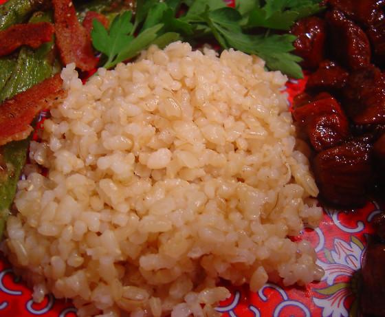 Alton Brown Baked Brown Rice  Baked Brown Rice Recipe Food