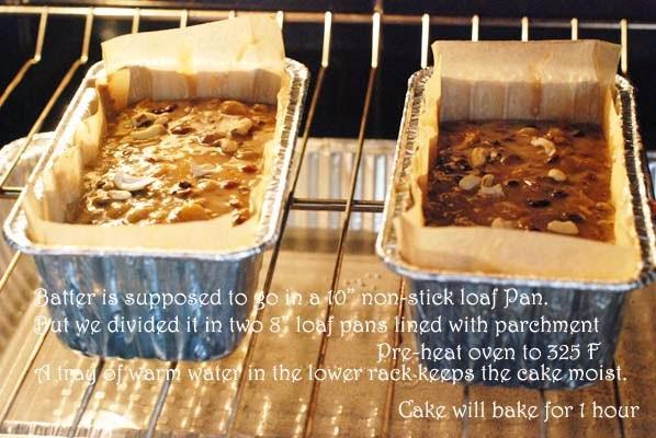 Alton Brown Fruitcake  Bong Mom s CookBook Alton Brown s Fruit cake for