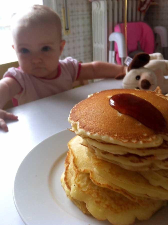 Alton Brown Pancakes  Pancakes di Alton Brown – Sac à poche