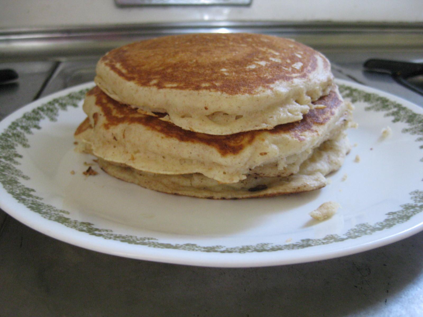 Alton Brown Pancakes  buttermilk pancakes alton brown