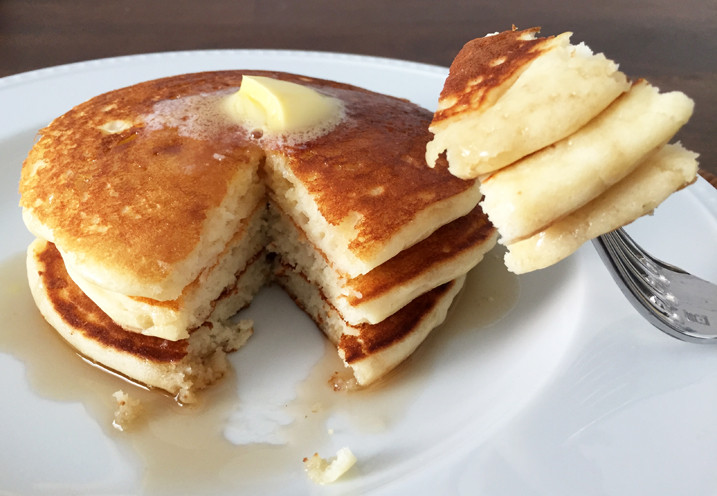 Alton Brown Pancakes  Alton Brown s Pancakes Recipe