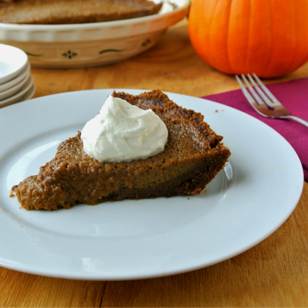 Alton Brown Pumpkin Pie  An Instagram Thanksgiving