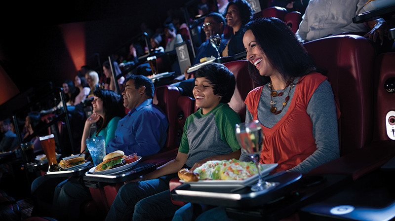 Amc Dinner And A Movie  Movie Theater Now Serves Dinner Dining Insider