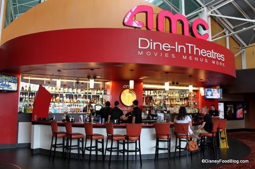 Amc Dinner And A Movie  Fun Ways to Beat the Rain at Walt Disney World