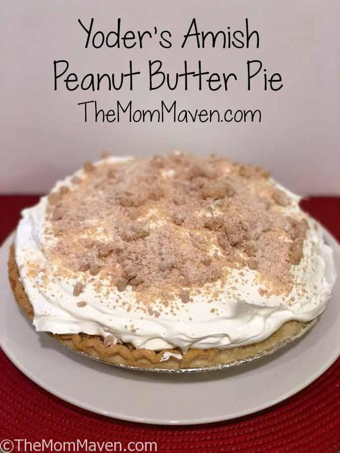 Amish Peanut Butter Pie  Yoder s Amish Peanut Butter Pie Recipe The Mom Maven