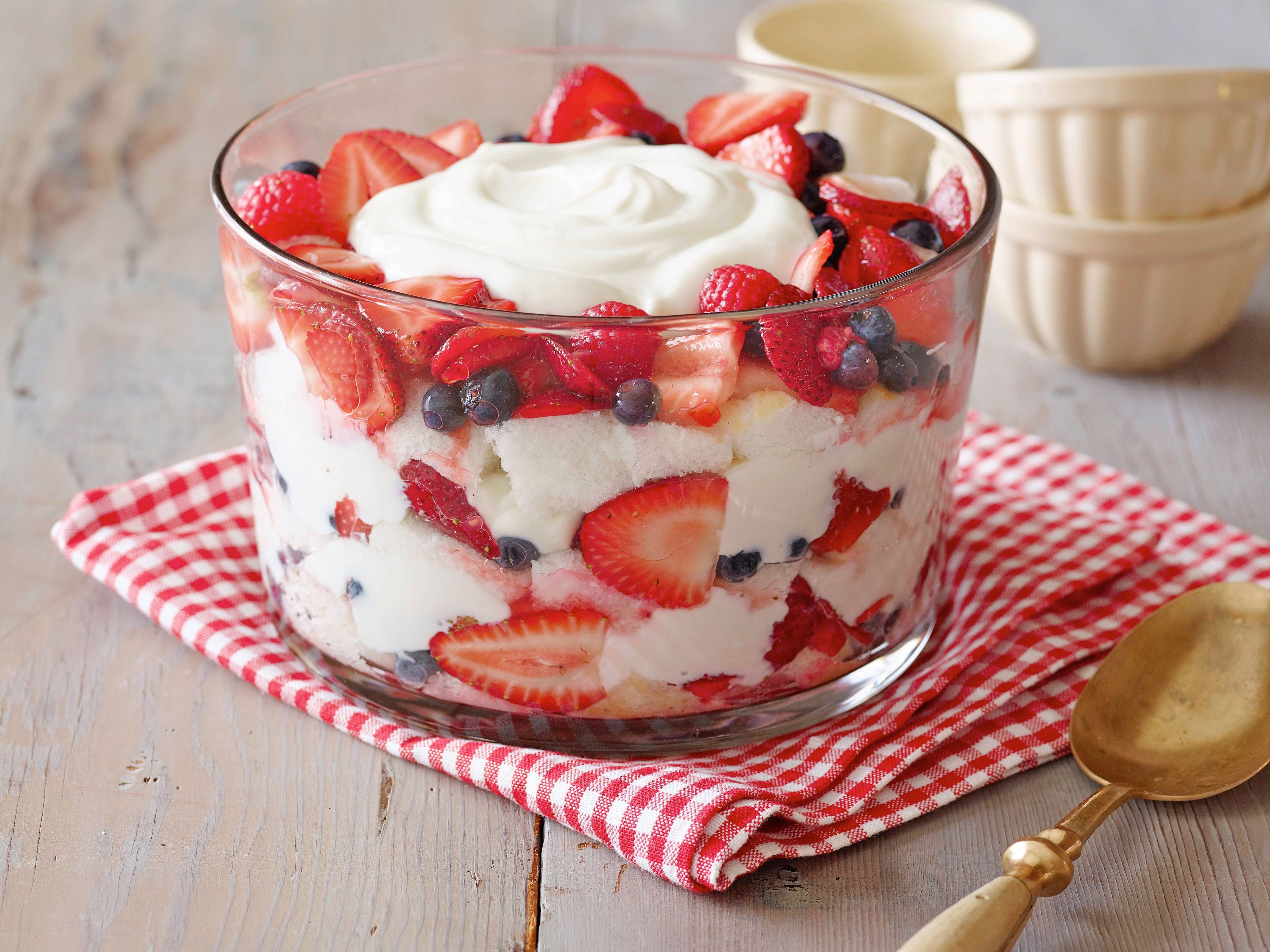 Angel Food Cake Desserts Recipes  Angel Food Cake and Berry Trifle Recipe