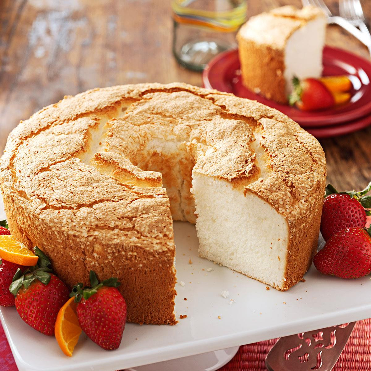 Angel Food Cake Desserts Recipes  Best Angel Food Cake Recipe