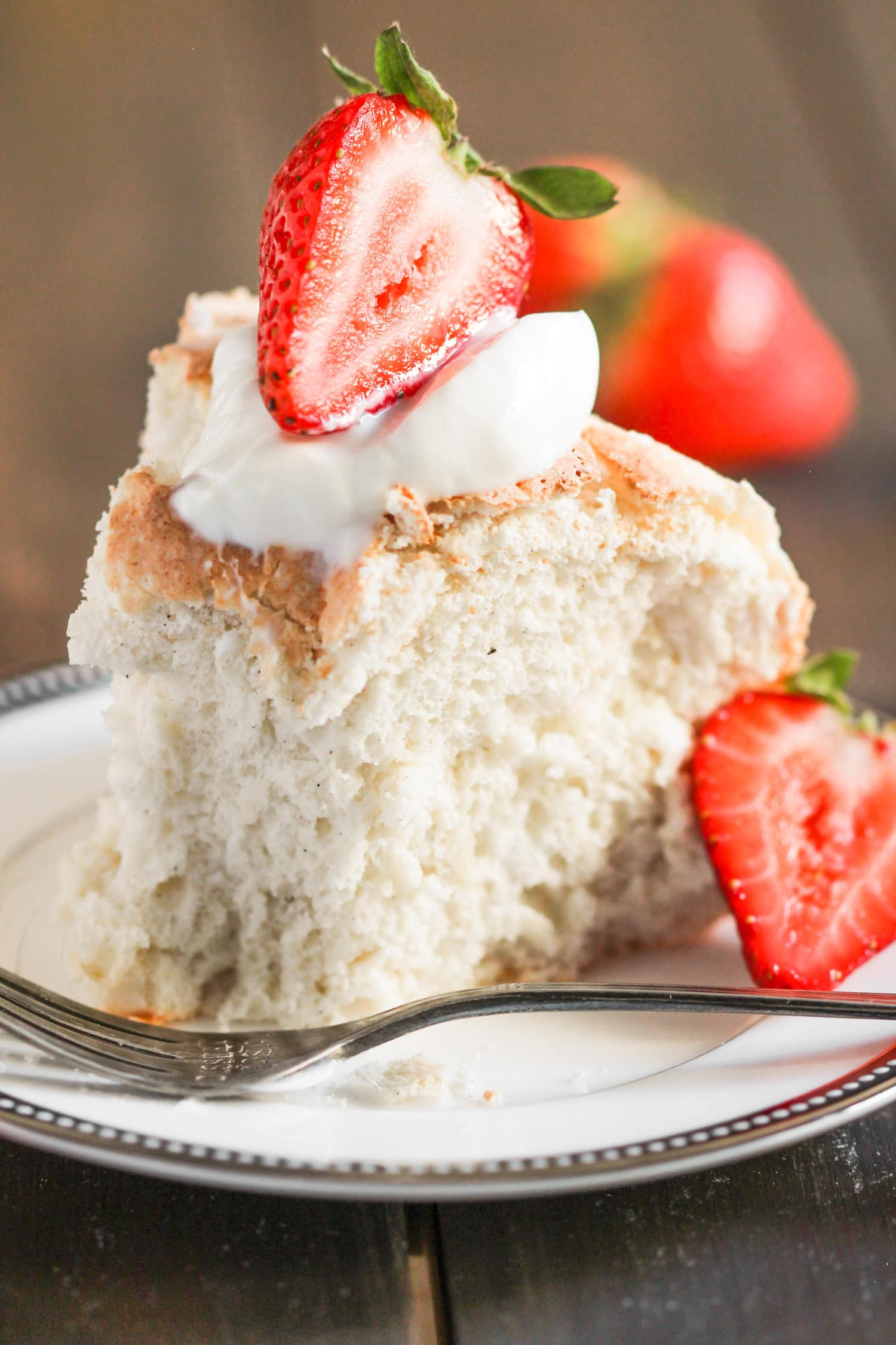 Angel Food Cake Desserts Recipes  Healthy Angel Food Cake Recipe