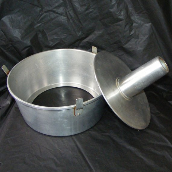 Angel Food Cake Pan  Vintage Wear Ever Aluminum Angel Food Cake Pan No 2744 w